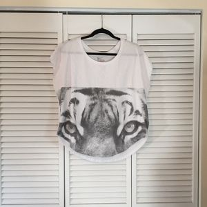 Nike Athletic Cut Animal Face Tee